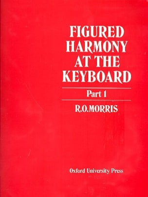 R.O. Morris - Figured Harmony At The Keyboard Book 1 - Book - di-arezzo.co.uk