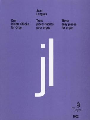 Jean Langlais - 3 Leichte Stucke - Partition - di-arezzo.fr