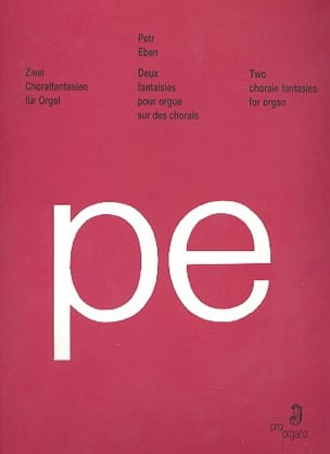 2 Choralfantasien Fur Orgel - Petr Eben - Partition - laflutedepan.com