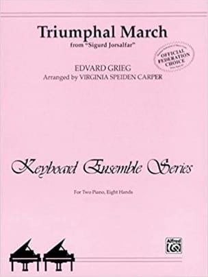Marche Triomphale - Edward Grieg - Partition - laflutedepan.com