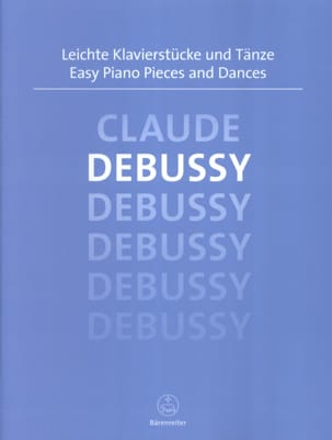 Easy Piano Pieces and Dances DEBUSSY Partition Piano - laflutedepan