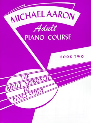AARON - Piano Course Adult Book 2 - Sheet Music - di-arezzo.co.uk