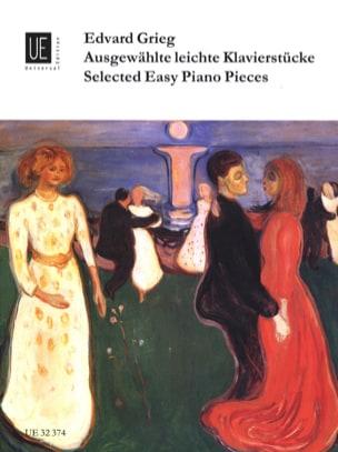 Edward Grieg - Ausgewahlte Leichte Klavierstucke - Partition - di-arezzo.fr