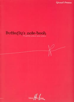 Gérard Pesson - Butterfly's Note-Book - Partition - di-arezzo.fr