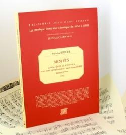 Motets Livre 2 - Nicolas Bernier - Partition - laflutedepan.com