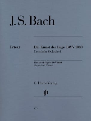 BACH - L'art de la Fugue BWV 1080 - Partition - di-arezzo.fr