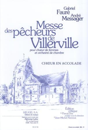 FAURE - MESSAGER - Villerville Fishermen's Mass - Choir alone - Sheet Music - di-arezzo.co.uk
