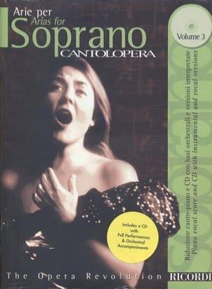 - Arie Per Soprano Volume 3 - Sheet Music - di-arezzo.com