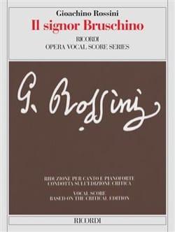 Gioachino Rossini - Il Signor Bruschino - Partition - di-arezzo.fr