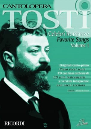 Francesco Paolo Tosti - Celebri Romanze Volume 1 - Sheet Music - di-arezzo.co.uk