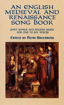 - An English Medieval And Renaissance Song Book - Sheet Music - di-arezzo.com
