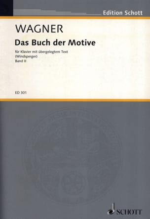 Richard Wagner - Das Buch Der Motive, Bd 2 - Partition - di-arezzo.fr