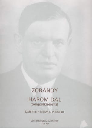 Zorandy - 3 Songs - Partition - di-arezzo.fr