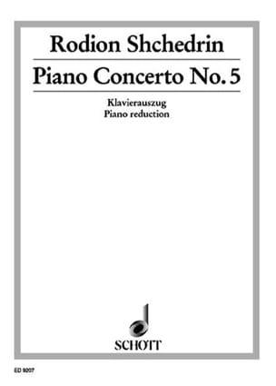 Rodion Chedrin - Concerto N°5 - Partition - di-arezzo.fr