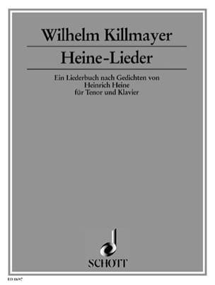 Heine-Lieder - Wilhelm Killmayer - Partition - laflutedepan.com