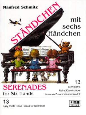 Berceuses à 6 Mains Manfred Schmitz Partition Piano - laflutedepan