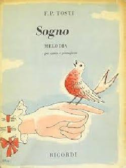 Sogno - Francesco Paolo Tosti - Partition - laflutedepan.com