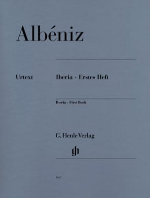 Isaac Albeniz - Iberia - First notebook - Sheet Music - di-arezzo.co.uk