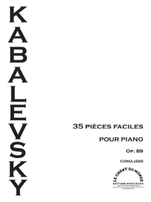 Dimitri Kabalevsky - 35 Easy Parts Opus 89 - Sheet Music - di-arezzo.co.uk
