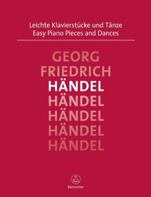HAENDEL - Easy piano pieces and dances - Partition - di-arezzo.co.uk
