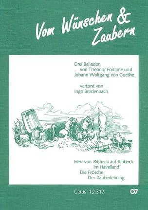 Ingo Bredenbach - 3 Balladen - Partition - di-arezzo.fr