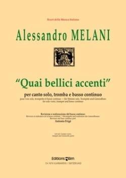 Quai Bellici Accenti Alessandro Melani Partition laflutedepan
