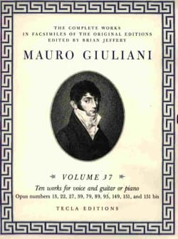 10 Works For Voice & Guitar - Mauro Giuliani - laflutedepan.com