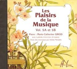 Les Plaisirs de la Musique - Volume 5A-5B - CD laflutedepan