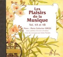 Les Plaisirs de la Musique - Volume 4A-4B - CD - Partition - di-arezzo.fr