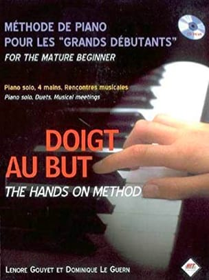 Doigt au But Partition Piano - laflutedepan