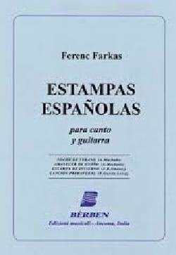 Ferenc Farkas - Estampas Españolas - Partition - di-arezzo.fr