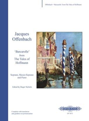Jacques Offenbach - Barcarolle. Hoffmann Tales - Sheet Music - di-arezzo.co.uk