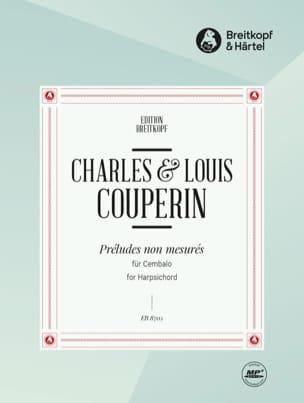 Préludes Non Mesurés Louis Couperin Partition Clavecin - laflutedepan
