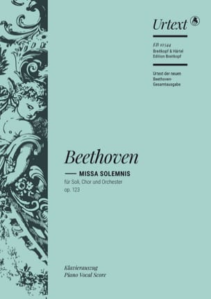 BEETHOVEN - Missa Solemnis Opus 123 - Partition - di-arezzo.fr