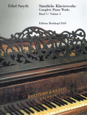 Samtliche Klavierwerke Volume 2 Ethel Smyth Partition laflutedepan