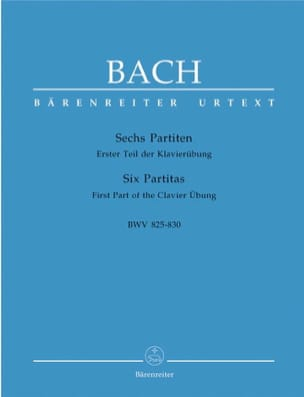 BACH - 6 Partitas - Sheet Music - di-arezzo.co.uk