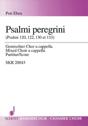 Psalmi Peregrini - Petr Eben - Partition - Chœur - laflutedepan.com