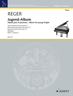 Jugend Album Opus 17 Volume 1 Max Reger Partition Piano - laflutedepan