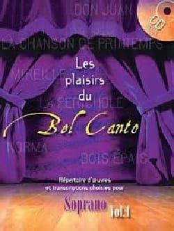 Les Plaisirs Du Bel Canto Soprano Volume 1 - laflutedepan.com