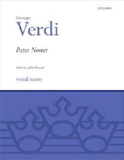 Giuseppe Verdi - Pater Noster - Partition - di-arezzo.fr