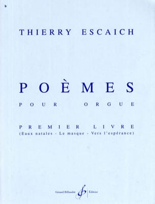 Thierry Escaich - Poems Book 1 - Sheet Music - di-arezzo.com