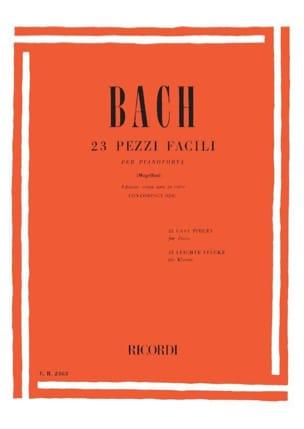 BACH - 23 Pièces Faciles - Partition - di-arezzo.fr