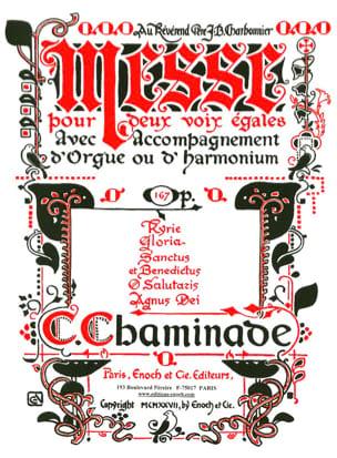 Cécile Chaminade - Messe Opus 167 - Partition - di-arezzo.ch