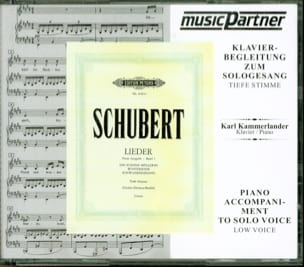 Franz Schubert - Lieder 3 Cycles. 3 Cd Vx Grave - Partition - di-arezzo.fr