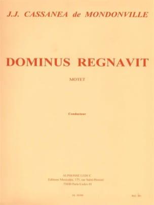 Dominus Regnavit. Conducteur - laflutedepan.com