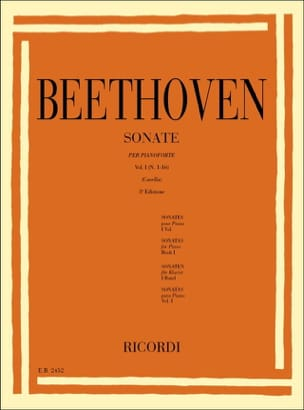 Sonates Vol 1 - BEETHOVEN - Partition - Piano - laflutedepan.com