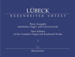 Vincent Lübeck - Oeuvre D'orgue Volume 1 - Partition - di-arezzo.fr