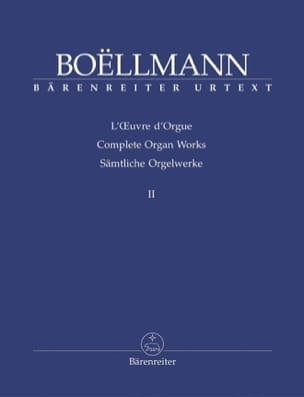 Oeuvre D'orgue Volume 2 Léon Boëllmann Partition Orgue - laflutedepan