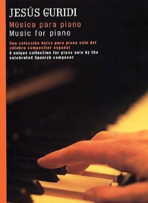 Musica Para Piano - Jesus Guridi - Partition - laflutedepan.com