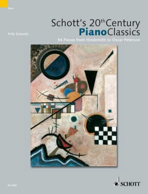 Schott's 20th Century Piano Classics Partition Piano - laflutedepan